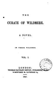 Cover of: The curate of Wildmere |