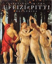 Cover of: Paintings in the Uffizi & Pitti galleries | Mina Gregori