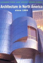 Cover of: Architecture in North America since 1960