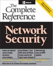 Cover of: Network Security | Mark Rhodes-Ousley