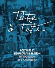 Cover of: Tête à tête