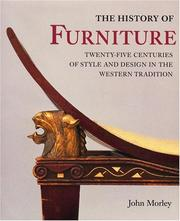 Cover of: The history of furniture