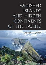 Cover of: Vanished islands and hidden continents of the Pacific
