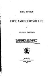 Cover of: Facts and Fictions of Life |