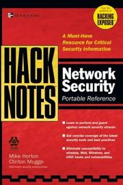 Cover of: Network security portable reference | Mike Horton