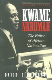 Cover of: Kwame Nkrumah