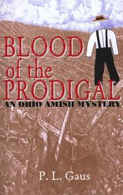 Cover of: Blood of the prodigal