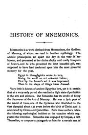 Cover of: Phrenotypics; or, The science of memory simplified and made easy |