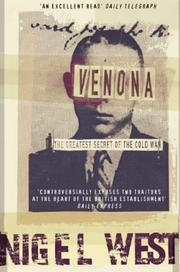 Cover of: Venona: the greatest secret of the Cold War