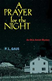 Cover of: A prayer for the night