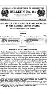 The Status and Value of Farm Woodlots in the Eastern United States