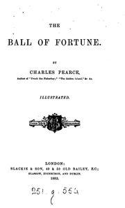 Cover of: The ball of fortune |