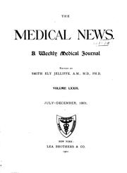Cover of: The Medical News |