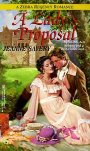 Cover of: A lady's proposal
