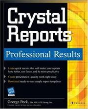 Cover of: Crystal reports | Peck, George