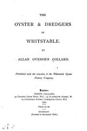 Cover of: The Oyster & Dredgers of Whitstable |