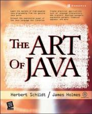 Cover of: The Art of Java (One Off)