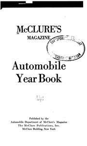 Cover of: Automobile Year Book |