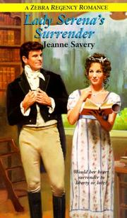 Cover of: Lady Serena's surrender