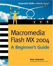 Macromedia Flash MX 2004 by Brian Underdahl