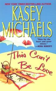 Cover of: This can't be love