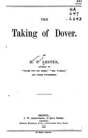 Cover of: The Taking of Dover |
