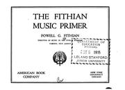 Cover of: The Fithian Music Primer |