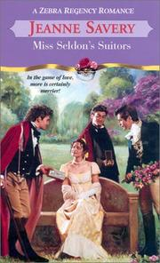 Cover of: Miss Seldon's suitors
