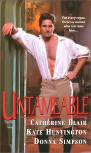 Cover of: Untameable |