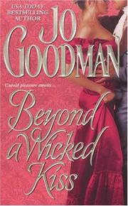 Cover of: Beyond a wicked kiss