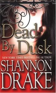 Cover of: Dead by dusk | Shannon Drake