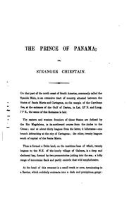 The prince of Panama; or, Stranger chieftain, a romance [in verse]. To which is added, Nights of ...
