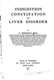 Indigestion, constipation and liver disorder by