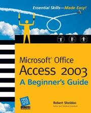 Cover of: Microsoft Office Access 2003