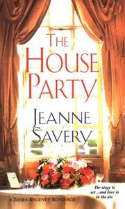 Cover of: The house party