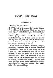 Cover of: Rosin the Beau: A Sequel to Melody and Marie |