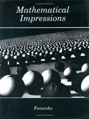 Cover of: Mathematical impressions