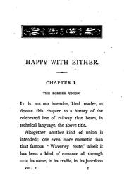 Cover of: Happy with either, by A.L.O.S. |