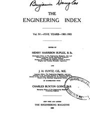 Cover of: The Engineering Index |