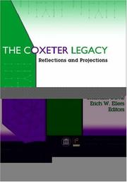 Cover of: The Coxeter legacy