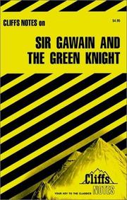 Cover of: Sir Gawain and the Green Knight: notes