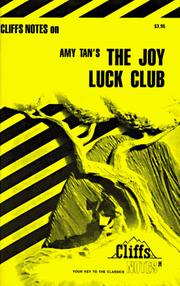 Cover of: The Joy Luck Club: notes ...