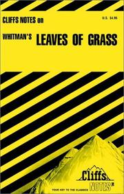 Cover of: Leaves of grass