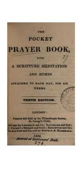 Cover of: The pocket prayer book [compiled by R. Wilkinson]. |