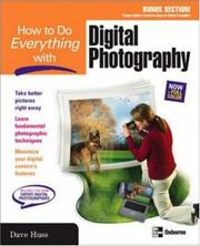 Cover of: How to do everything with digital photography