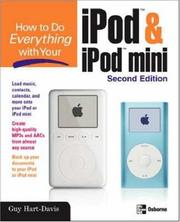 Cover of: How to do everything with your iPod & iPod mini
