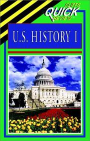 Cover of: U.S. history I