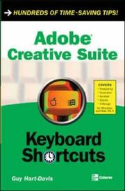 Cover of: Adobe creative suite: keyboard shortcuts