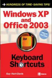 Cover of: Windows XP and Office 2003: keyboard shortcuts
