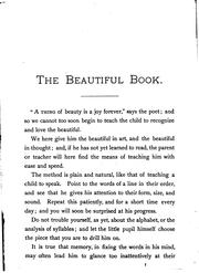 Cover of: The Beautiful Book for Little Children |